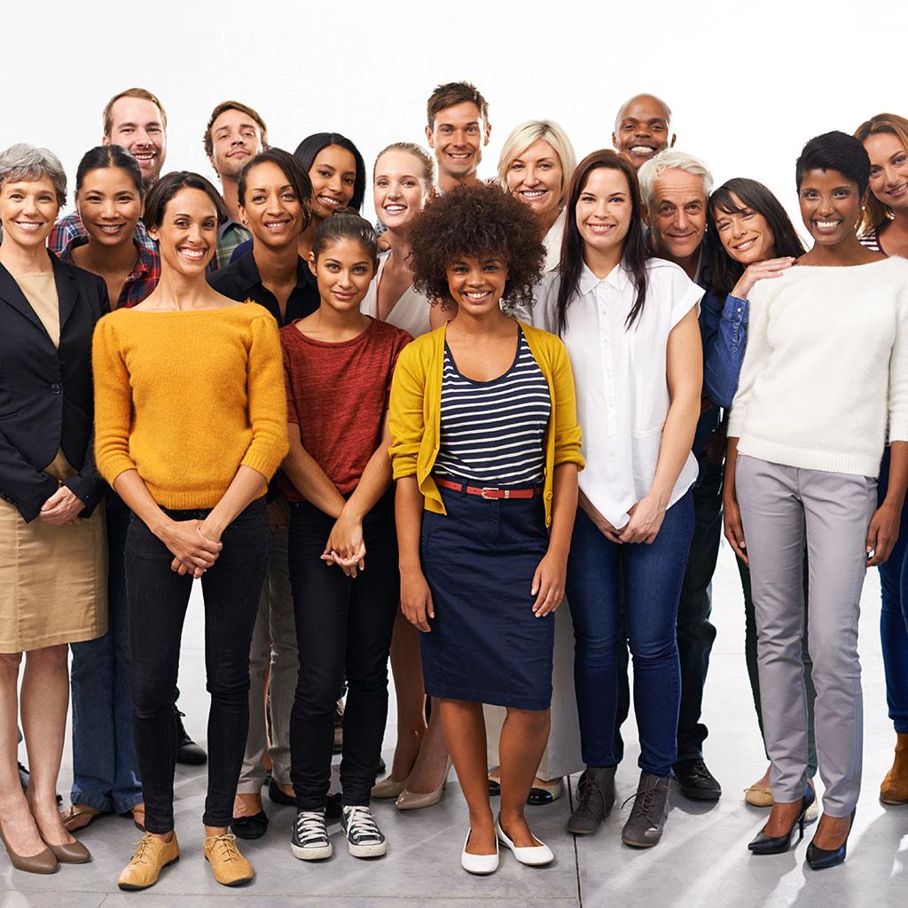 grupo de alumnos de clases de idiomas